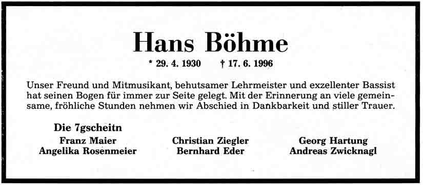 Schwandorfer Zeitung Todesanzeigen